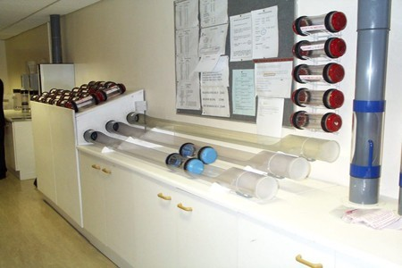 Pneumatic tube systems- Air tube systems in hospital