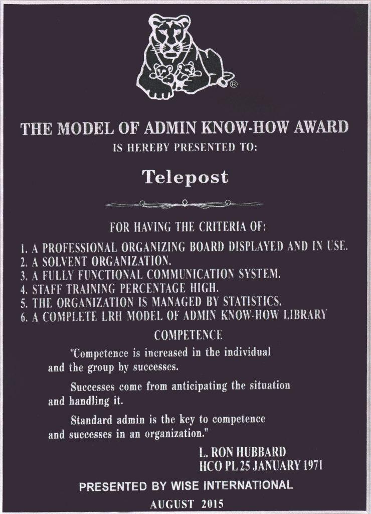 telepost certificate -adwords